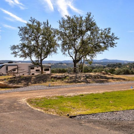 view of rv spot near austin texas