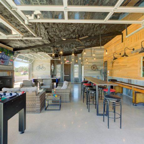Indoor Recreation at Buddys Backyard RV Resort
