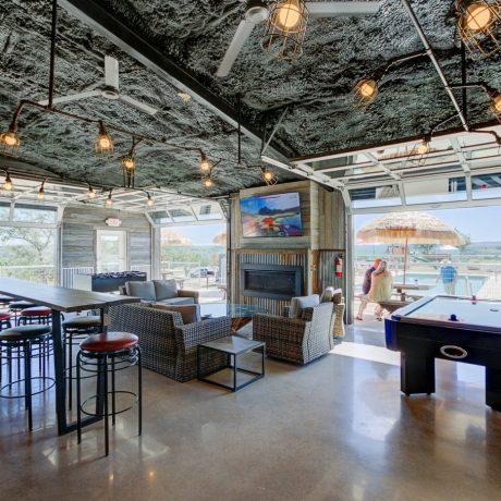 clubhouse at Buddys Backyard RV Resort